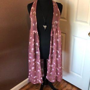 One Size Kimono by Lauren Conrad NWT